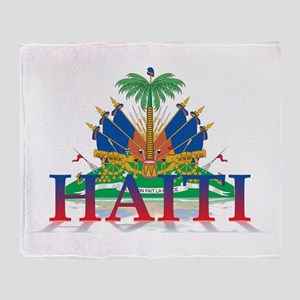 3D Haiti Throw Blanket