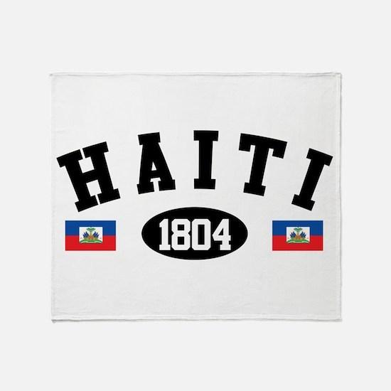 Haiti 1804 Throw Blanket