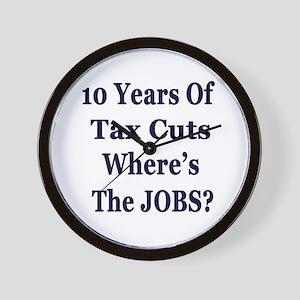 Where's the Jobs?? Wall Clock