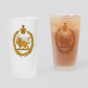 Persia Coat Of Arms Pint Glass