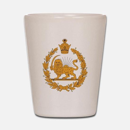 Persia Coat Of Arms Shot Glass