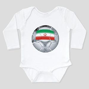 Iran Soccer Long Sleeve Infant Bodysuit