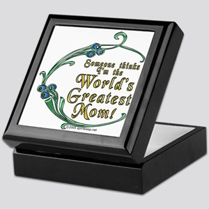World's Greatest Mom! Keepsake Box