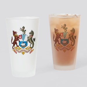 Belfast Coat Of Arms Pint Glass