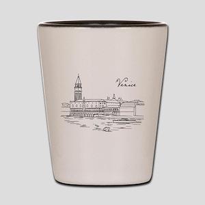 Vintage Venice Shot Glass
