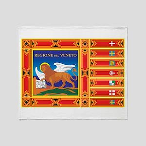 Venice Flag Throw Blanket