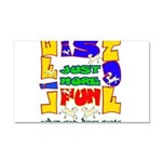 Life is Fun with Goats Car Magnet 12 x 20