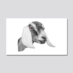 Nubian Goat Sketch Car Magnet 12 x 20