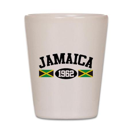 Jamaica 1962 Shot Glass