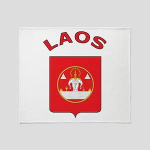 Laos Throw Blanket