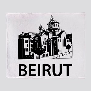 Beirut Throw Blanket