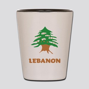 Lebanon Shot Glass