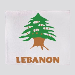 Lebanon Throw Blanket