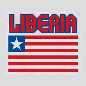 Liberia Throw Blanket