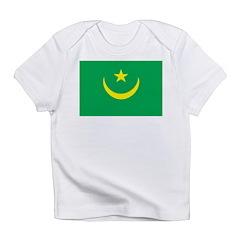 Mauritania Flag Infant T-Shirt