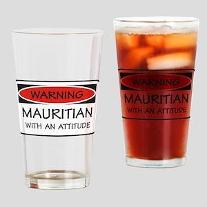 Attitude Mauritian Pint Glass