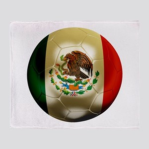 Mexico World Cup Throw Blanket