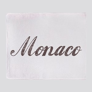 Vintage Monaco Throw Blanket