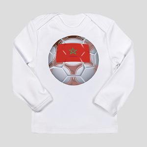 Morocco Soccer Long Sleeve Infant T-Shirt