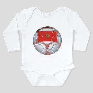 Morocco Soccer Long Sleeve Infant Bodysuit