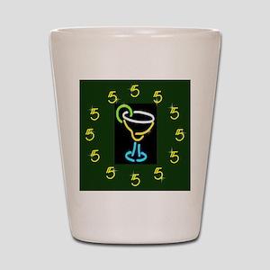 It's Always 5:00 Shot Glass