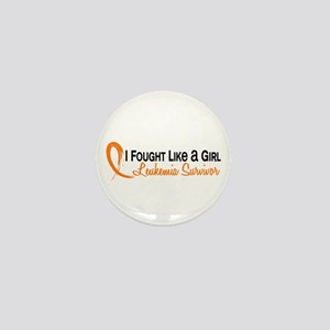Licensed Fought Like a Girl 6S Leukemi Mini Button