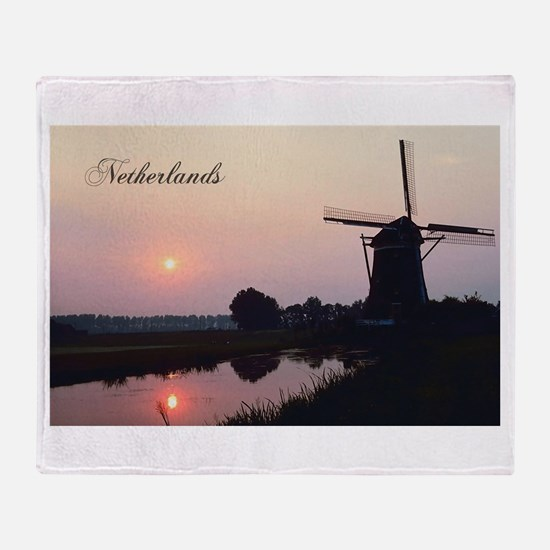 Netherlands Throw Blanket