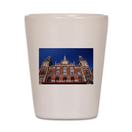 Amsterdam Central Station Shot Glass