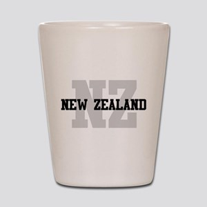 NZ New Zealand Shot Glass