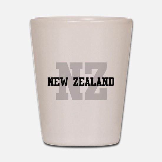 NZ New Zealand Shot Glass