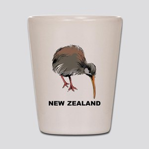 New Zealand Kiwi Shot Glass