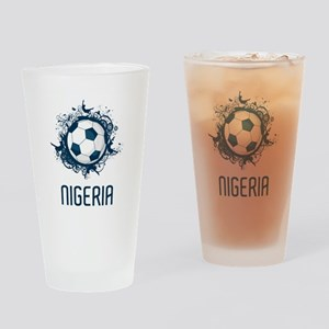 Nigeria Football Pint Glass