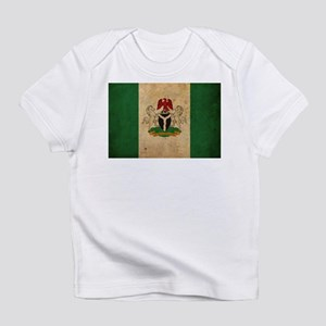 Vintage Nigeria Flag Infant T-Shirt