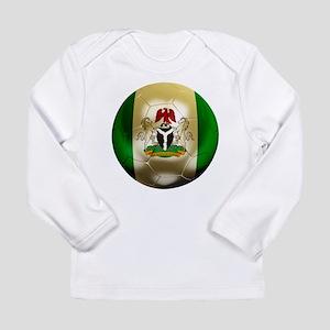 Nigeria Football Long Sleeve Infant T-Shirt