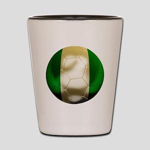 Nigeria World Cup Shot Glass
