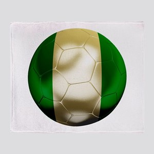 Nigeria World Cup Throw Blanket