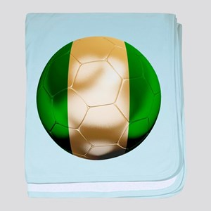 Nigeria World Cup baby blanket