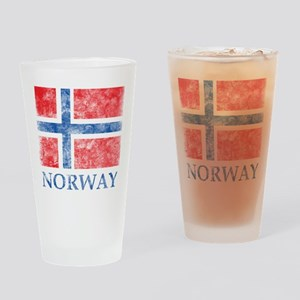Vintage Norway Pint Glass