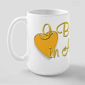 I Believe in Angels Large Mug