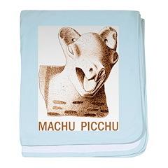 Machu Picchu baby blanket