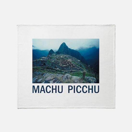 Machu Picchu Throw Blanket
