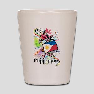 Philippines Shot Glass