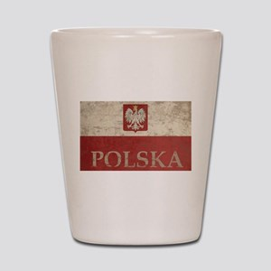 Vintage Polska Shot Glass