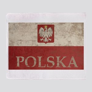Vintage Polska Throw Blanket