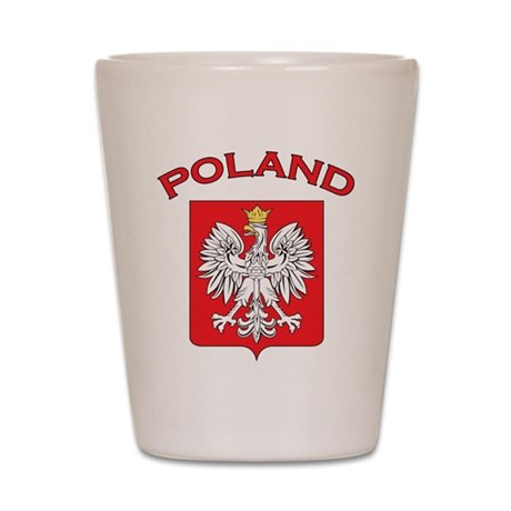 Poland Shot Glass