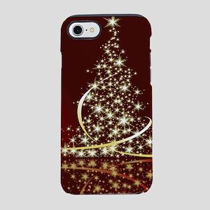 Christmas Tree Sparkling Glitt iPhone 7 Tough Case