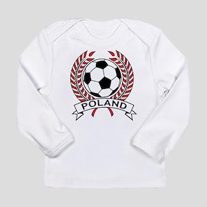 Poland Soccer Long Sleeve Infant T-Shirt