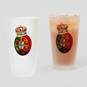 Portugal Football Champion Pint Glass
