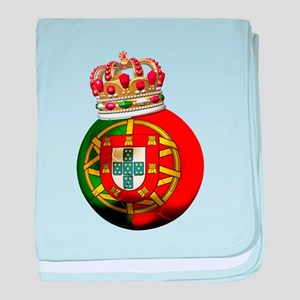 Portugal Football Champion baby blanket