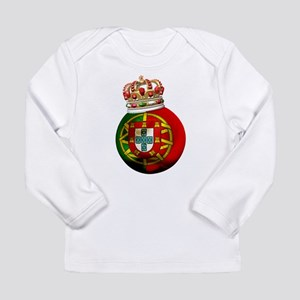 Portugal Football Champion Long Sleeve Infant T-Sh